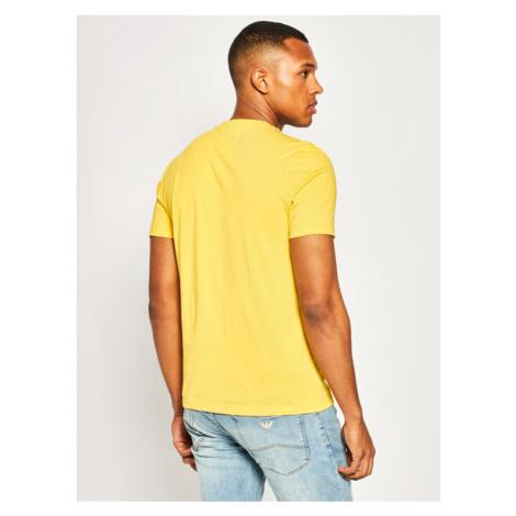 Blauer T-Shirt Soft 20SBLUH02158 004547 Żółty Regular Fit