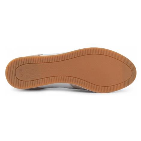 Boss Sneakersy Glaze 50407903 10214592 01 Brązowy Hugo Boss