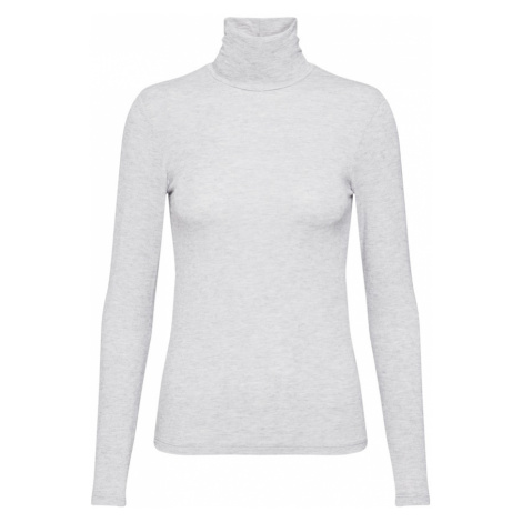 Y.A.S Sweter 'YASWOOLA LS HIGH NECK TOP' jasnoszary