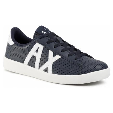 Sneakersy ARMANI EXCHANGE - XUX016 XCC60 A138 Navy/Opt White