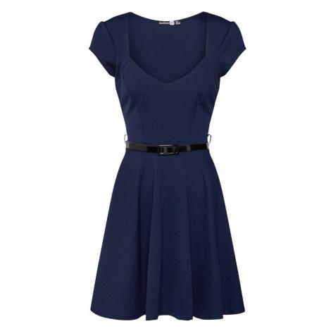 Boohoo Sukienka 'Lara' ciemny niebieski