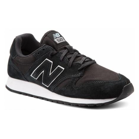 Sneakersy NEW BALANCE - WL520RK Czarny