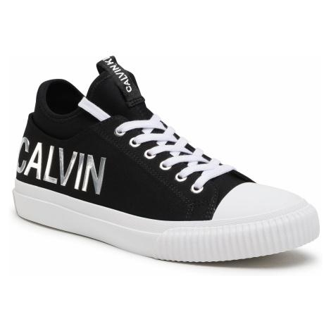 Trampki CALVIN KLEIN JEANS - Ivanco B4S0698 Black/Silver