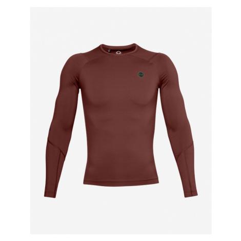 Under Armour RUSH™ Koszulka Czerwony Brązowy