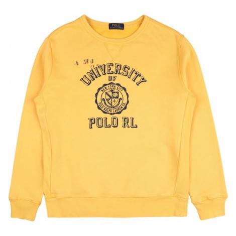 POLO RALPH LAUREN Bluza złoty żółty