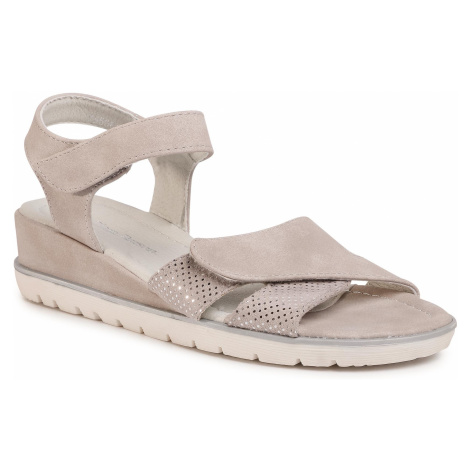 Sandały CLARA BARSON - WS5081-01 Grey