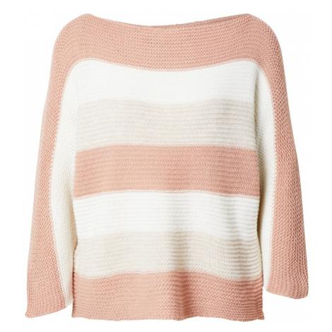 Hailys Sweter 'Alina' różowy pudrowy / biały / beżowy Haily´s