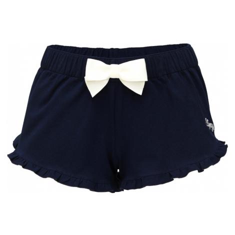 Slippsy granatowe damskie szorty domowe Dark Blue Shorts Girl