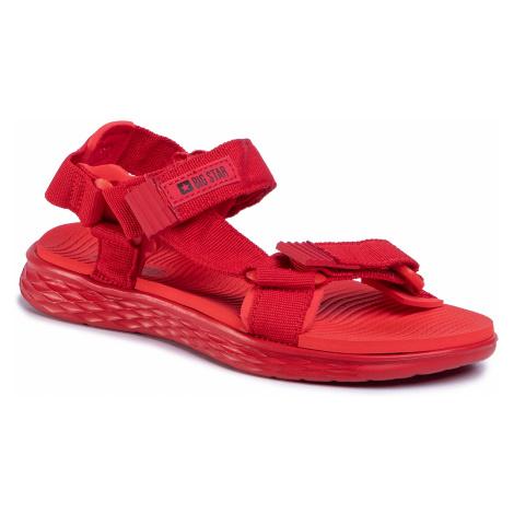 Sandały BIG STAR - FF274A602 Red