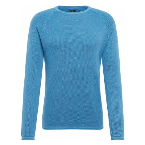 Key Largo Sweter 'MST THOMAS' błękitny