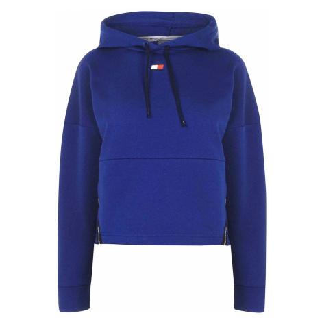 Tommy Sport Crop Taped Bluza z kapturem Tommy Hilfiger