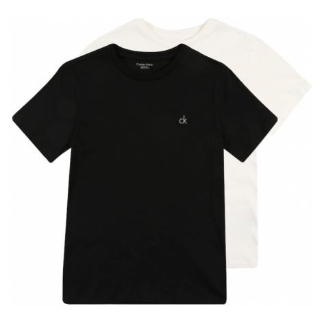 Calvin Klein Underwear Piżama '2PK SS TEE' czarny / biały