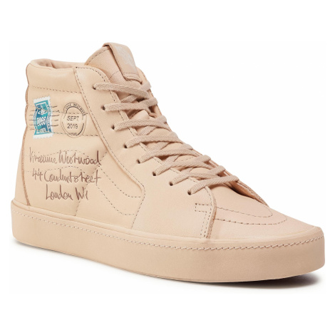 Sneakersy VANS - Sk8-Hi VN0A4BV6XKF1 (Vivienne Wstwd)Ltr/Vegtn