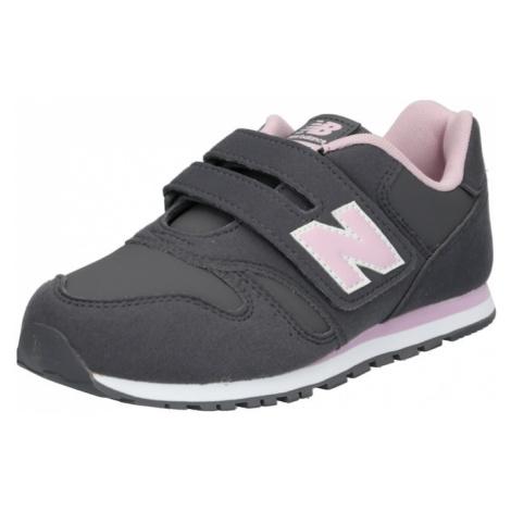 New Balance Trampki 'YV373CE' szary / różowy