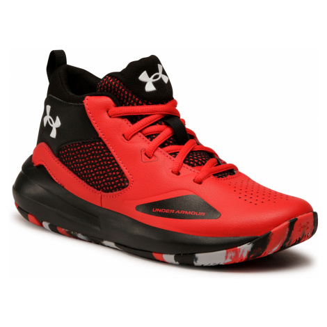 Buty UNDER ARMOUR - Ua Gs Lockdown 5 3023533-601 Red