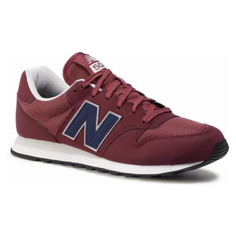 Sneakersy NEW BALANCE - GM500VE1 Bordowy