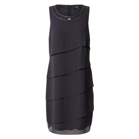 S.Oliver BLACK LABEL Sukienka kobalt niebieski