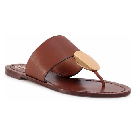Japonki TORY BURCH - Patos Disk Sandal 73193 Mou 917