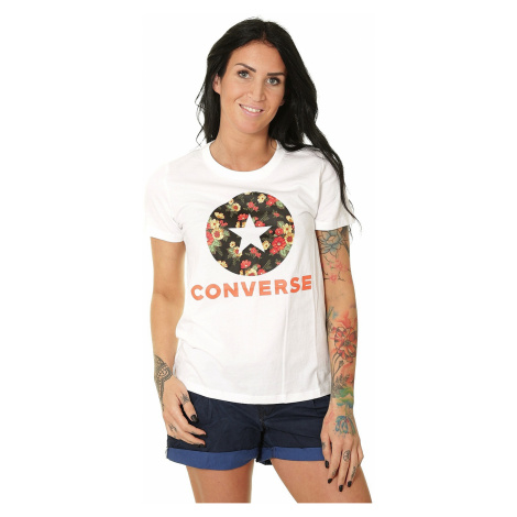 T-shirt Converse In Bloom Floral/10017337 - A02/White