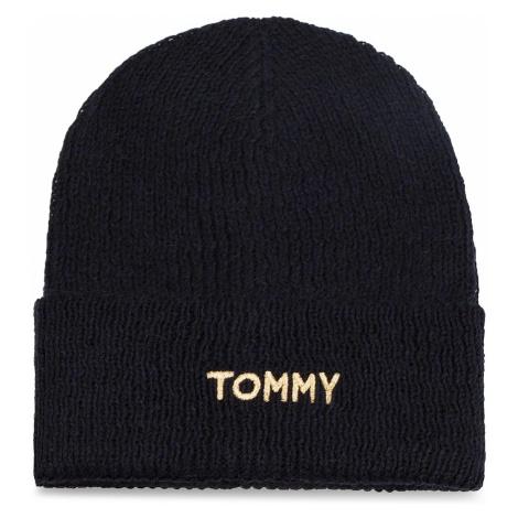Czapka TOMMY HILFIGER - Effortless Knit Bean AW0AW05950 413