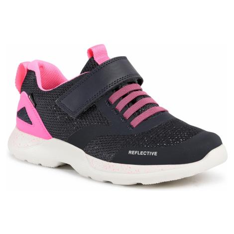 Sneakersy SUPERFIT - GORE-TEX 1-009209-8020 W Blau/Rosa
