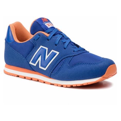 Sneakersy NEW BALANCE - YC373BO Niebieski