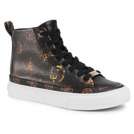 Sneakersy GUESS - Leksan FL8LEK FAL12 BLACK