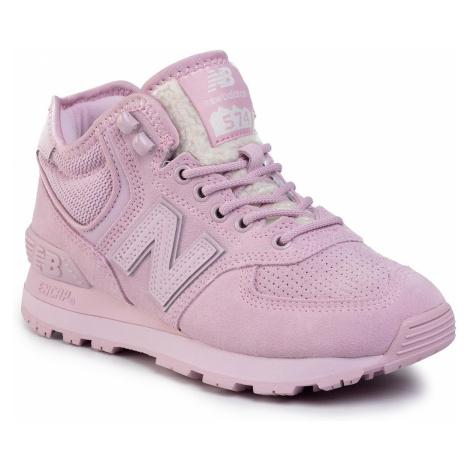 Sneakersy NEW BALANCE - WH574BF Różowy