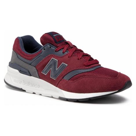 Sneakersy NEW BALANCE - CM997HFV Bordowy