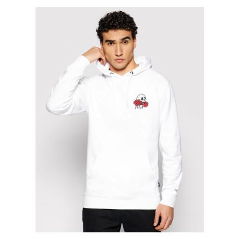 Vans Bluza Rose Bed VN0A54AK Biały Regular Fit