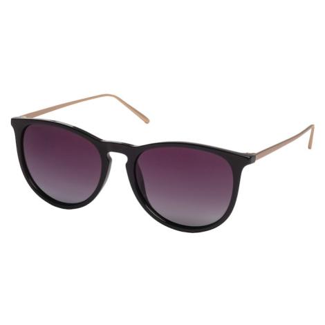 Pilgrim Okulary przeciwsłoneczne 'Vanille' czarny