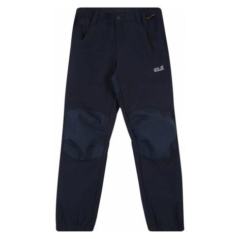 JACK WOLFSKIN Spodnie sportowe 'RASCAL WINTER PANTS KIDS' niebieska noc