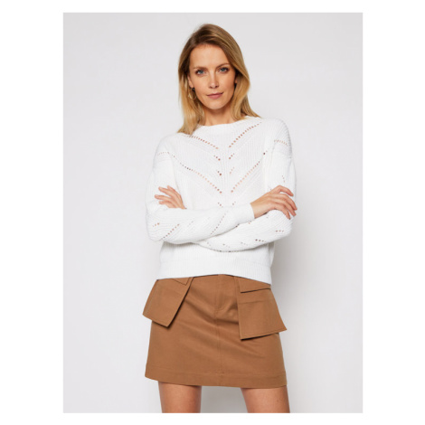 Guess Sweter Emma W1RR00 Z2BB0 Beżowy Relaxed Fit