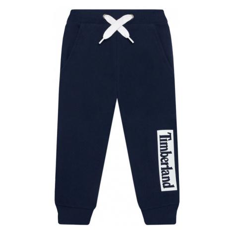 Timberland Spodnie dresowe T24B51 M Granatowy Regular Fit