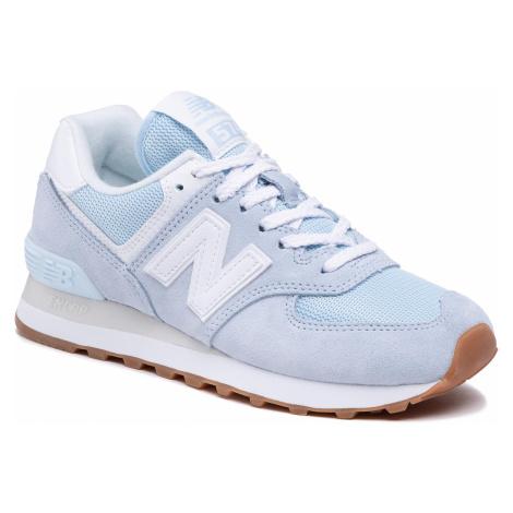 Sneakersy NEW BALANCE - WL574PE2 Niebieski