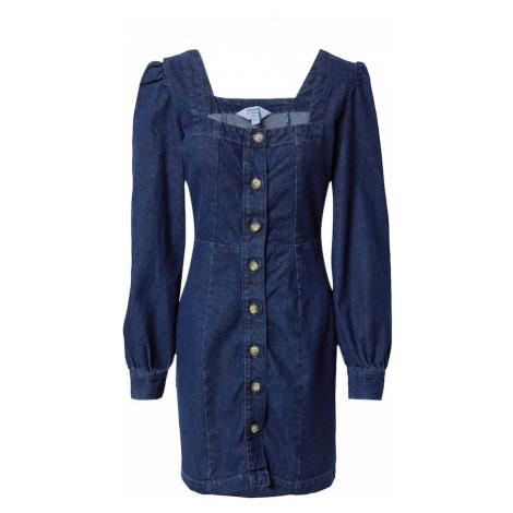 Miss Selfridge Sukienka ciemny niebieski