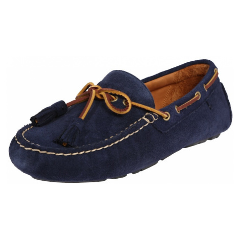 POLO RALPH LAUREN Mokasyny 'ANDERS LOAFR-SLIP-ONS-DRIVER' granatowy
