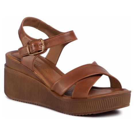 Sandały LASOCKI - 2242-03 Brown