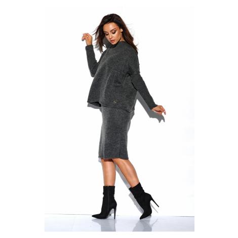 Lemoniade Woman's Set (Sweater + Skirt) LS260 Dark