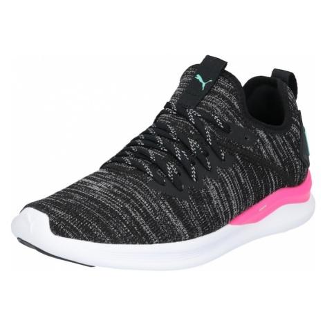 PUMA Buty sportowe pastelowy zielony / różowy / nakrapiany czarny / biały