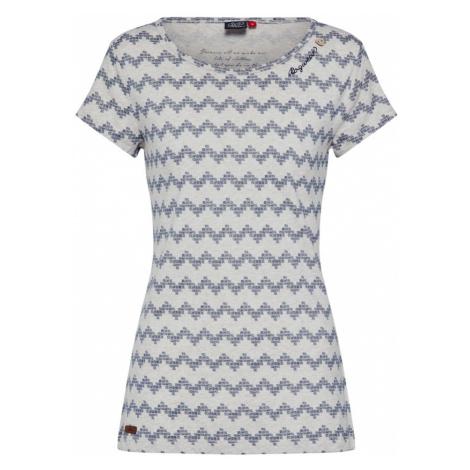 Ragwear Koszulka 'MINT ZIG ZAG' beżowy / jasnoszary