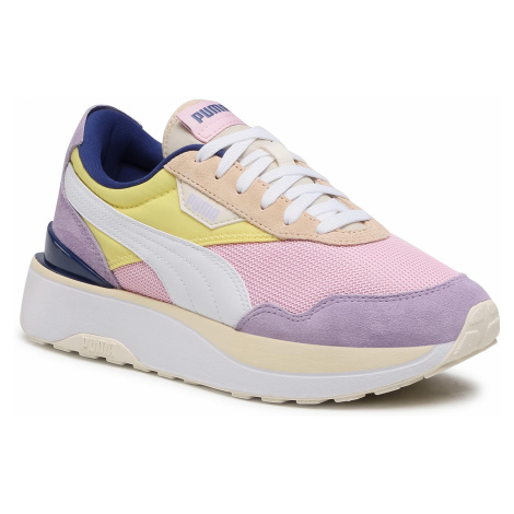 Sneakersy PUMA - Cruise Rider Silk Road Wn's 375072 01 Pink Lady/Yellow Pear