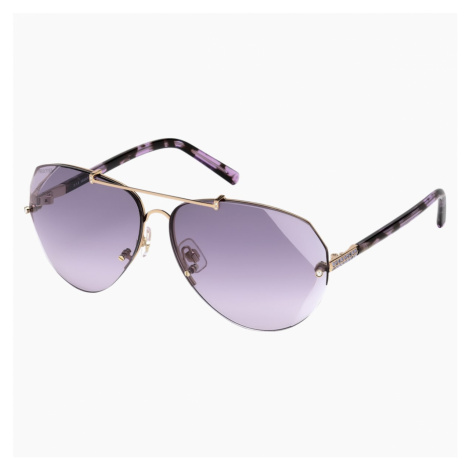Okulary przeciwsłoneczne Swarovski, SK0134 28Z, fioletowe