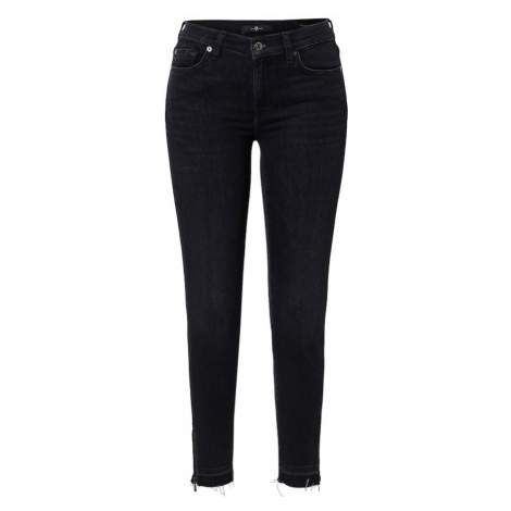 7 for all mankind Jeansy 'ILLUSION' czarny denim