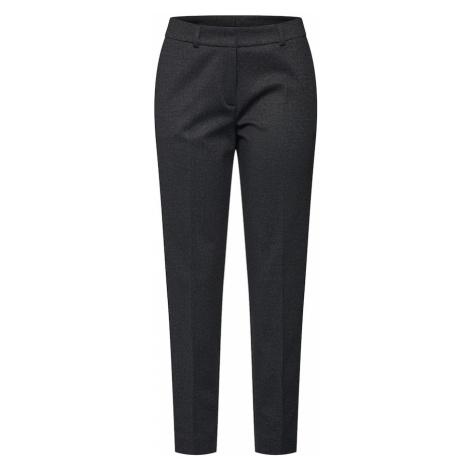 S.Oliver BLACK LABEL Spodnie w kant szary bazalt