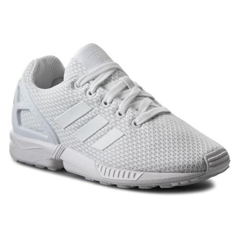 Buty adidas - Zx Flux K S81421 Ftwwht/Ftwwht/Ftwwht