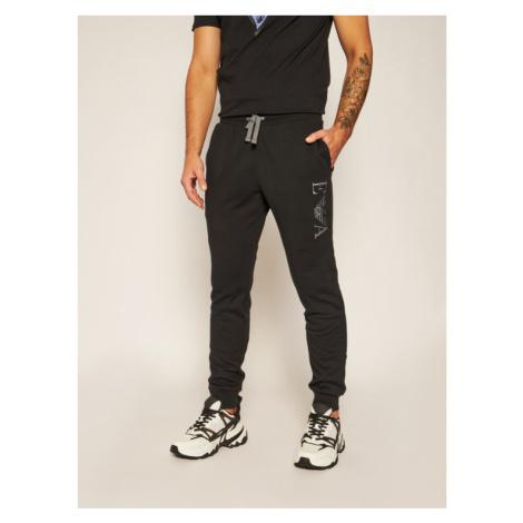 Emporio Armani Underwear Spodnie dresowe 111873 0A571 Czarny Regular Fit