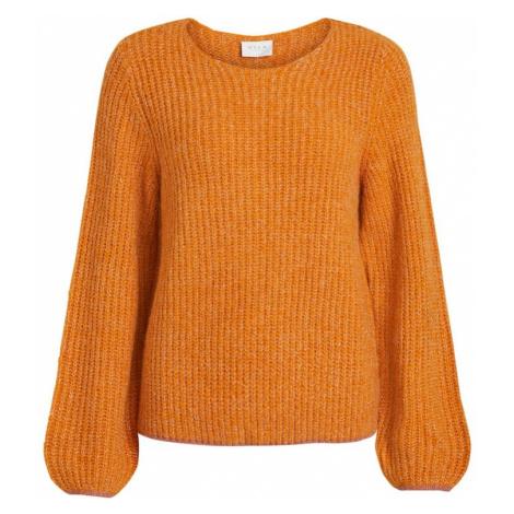 VILA Sweter pomarańczowy