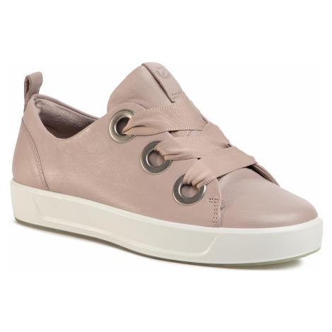 Sneakersy ECCO - Soft 8 W 47054301386 Grey Rose