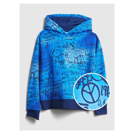 GAP niebieska bluza chłopięca